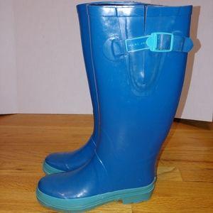marc jacobs blue rainboots size 37